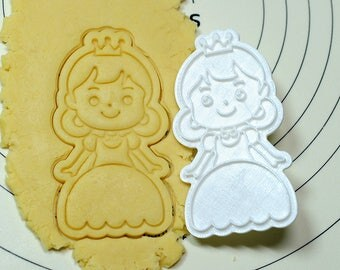 Princess Ally Cookie Cutter and Stamp