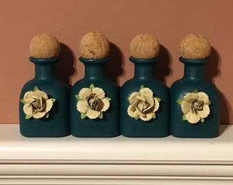 Decorative Mini Bottles (4)
