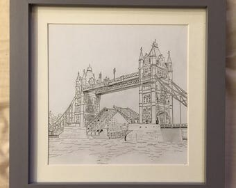 London Bridge artwork