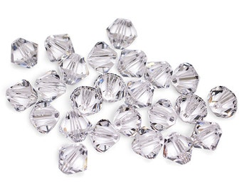 Swarovski Crystal Bicone Crystal Beads 5301/5328- Available in 4mm, 6mm