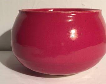 Medium Red Bowl 2