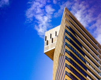Reach for the Sky - Melbourne skyline color photography