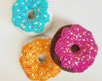Yummy Donuts Baby Rattle