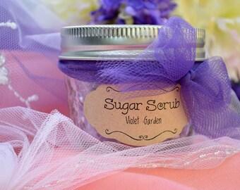 Sugar Scrub 4 oz Bridesmaids Gift