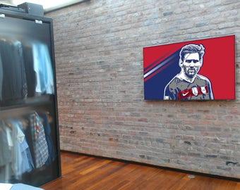 Lionel Messi - FC Barcelona - Art Print