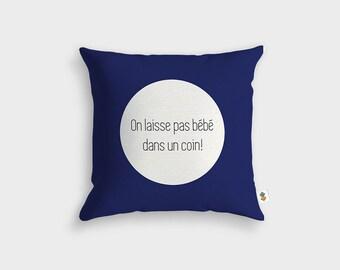 Cushion BABY CORNER - Made in France - 45 x 45 cm
