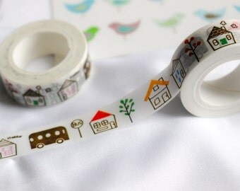 Cute Homes Washi Tape