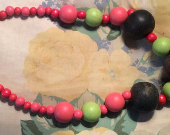 Jura wooden beads necklace