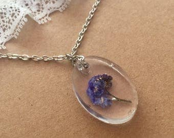 Forget Me Not Necklace, Forget Me Not Jewellery, Forget Me Nots