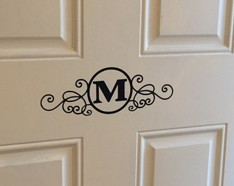 Front Door Vinyl Decal