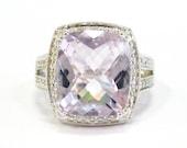 Morganite & Diamond Ring ...