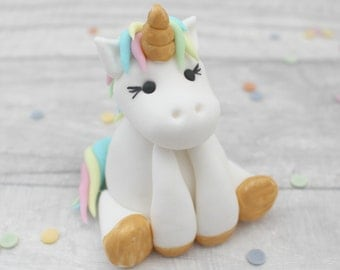 unicorn cake topper, sugar unicorn model, sugarpaste model, birthday cake topper, unicorn cake model, fondant sugar cake decoration, rainbow