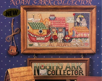 Alma Lynn Designs Noah's Ark Collector Cross Stitch Book - ALX-124- 104690