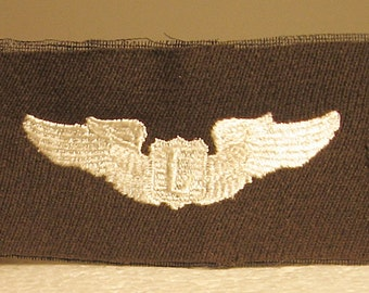 WWII USAAF Cloth Liason Pilot Wing