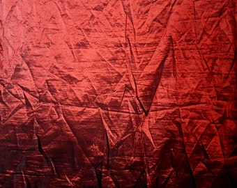 Burgundy taffeta fabric