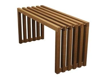 PurNature Bank oak in Sittingwood design www.sittingwood.de furniture bench wood bench solid wood solid fine handmade polished natural