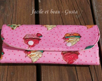 Manicure bag with compartments for nail polish and files etc. - on order