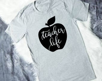 Teacher Shirts - Teacher Gifts - Teacher Appreciation Gift - Teacher T Shirts - Teacher Tshirts - Teacher Tee - Preschool Teacher Gift Idea