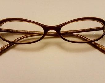 Bebe Marlowe eyeglasses - Marlowe Toffee light brown 140mm eyeglasses - small, junior/female