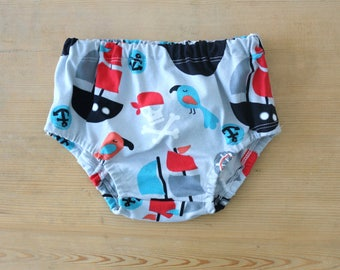 Panty diaper cover Pirates