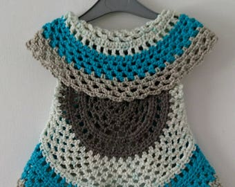 Child's mandala cardigan / shawl