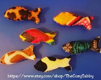 Colorful Catnip Fish