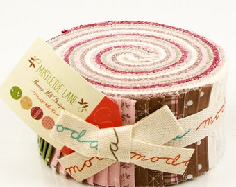 MISTLETOE LANE Jelly Roll by Bunny Hill Designs for MODA ~ Free Shipping ~