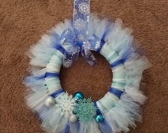 Winter Wonderland Tulle Wreath