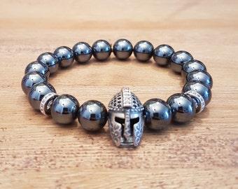Men, Gladiator-20, Hematite bracelet