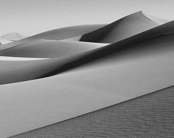 Mesquite Dunes 16 matted fine art archival print