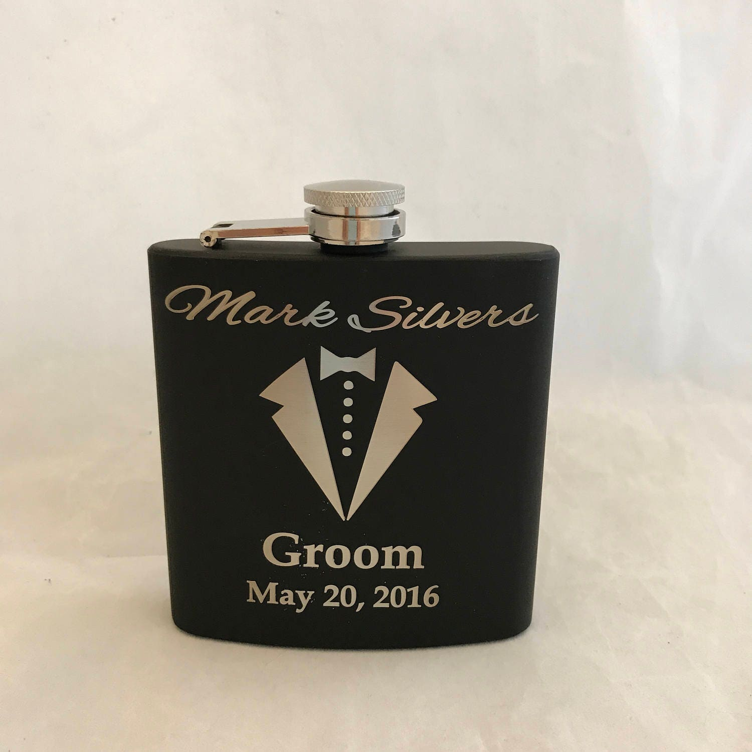Groomsman Flasks Personalized Flask Custom Flask