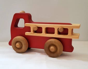 Children's Toy Fire Truck (Large)