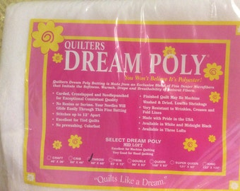 Quilters Dream Poly Batting