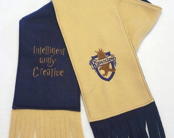 Ravenclaw House Two-Tone Scarf - Harry Potter Scarf