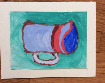 Mad Teacup in Blue