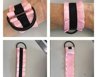 Custom wrist and/or ankle cuffs