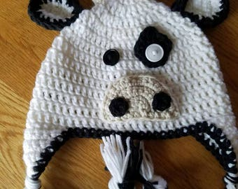 Handmade cow hat
