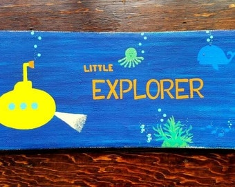 Little Explorer; Yellow Submarine