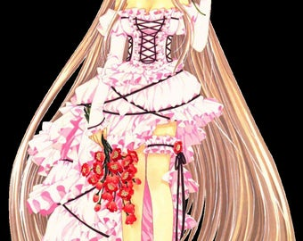 Cosplay Chobits - Chii  FREE SHIPPING