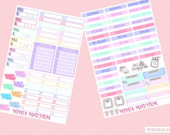 Full Set // Erin Condren // Planner Stickers
