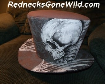 Skull and Wings Hat