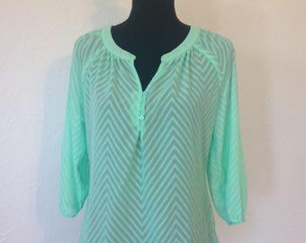 Seafoam Green Shirt