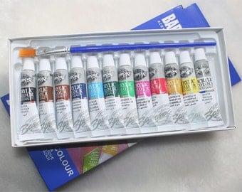 12 Colors Acrylic Paint Set