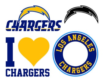 Los Angeles Chargers Etsy