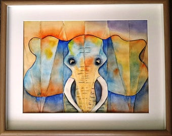 """Watercolour Abstract """"Ellie"""""""