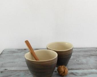 Gres ceramic tumbler