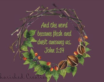 John 1:14 *INSTANT DOWNLOAD*