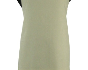 Plain dyed 100% cotton canvas kitchen apron