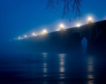 Foggy Bridge, Columbia, PA