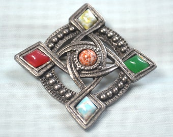 Medieval Brooch | Antique Gothic Renaissance Victorian | XIII XIV century | pin | gift jewelry | 90's vintage